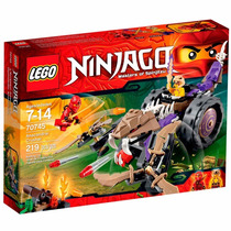 70745 - Lego Ninjago - Carro De Ataque De Anacondrai C/ Nf