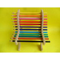 Cadeirinha Pota Lápis - Brinquedo Pedagógico Mdf