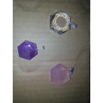 Pingente Estrela De Davi Cristal Natural Compre 2 E Leve 3