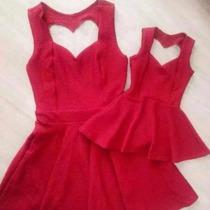 Tal Mãe Tal Filha Vestido Rodado Com Coração Nas Costas Kit
