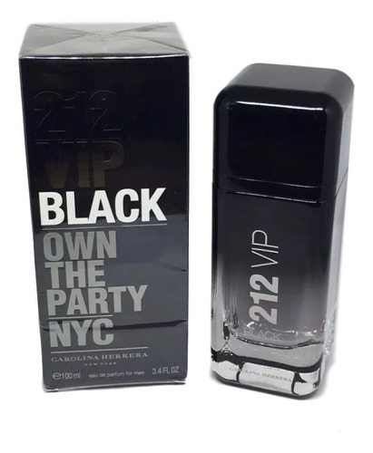 Perfume 212 Vip Black Masculino Edp 100ml - 100% Original.