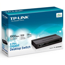 Tp Link Tl-sg1008d Switch Com 8-lan Gigabit Desktop