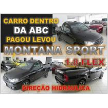 Montana Sport 1.8 Flex Ano 2005 - Financio Sem Burocracia