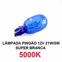 Lâmpada Pingão Super Branca T20 7443/7440 21/5w Tipo Philips
