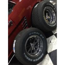 Jogo De Rodas Shelby Pneus Cooper Cobra Maverick Mustangmust