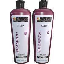 Progressiva Gold Kit 1 L (ácido Glioxilico)+ Frete Gratis