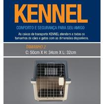 Caixa Transporte N2 Kennel Avião Cão Cães Cachorro Gato