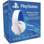 Headset Gold 7.1 Wireless Branco Sony Ps4 Ps3 Vita Original
