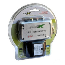 Modulador Rca Audio Video Para Rf Parabolica,dvd,games