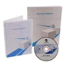 Curso Economia E Negócios Livro + Dvd Videoaulas