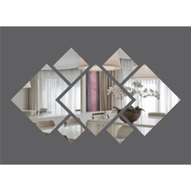 Espelho Decorativo Grande 1,00x0,55m Montado