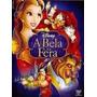 A Bela E A Fera + Branca De Neve ( 2 ) Dvds Lacrado Disney