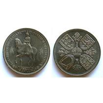 Moeda Inglaterra 1953 Coroação Da Rainha Elizabeth 1953