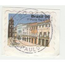 Selo Brasil 1996 - 1º Porte Nacional - Pelourinho - Q8