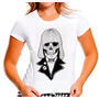 Baby Look Caveira Mexicana Johnny Ramone Ramones 383