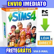 The Sims 4 Pc + Todas Expansões 2018 - Envio Digital Grátis