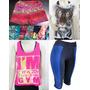 Lote Kit Moda Fitness Feminina 30 Peças Revenda Atacado