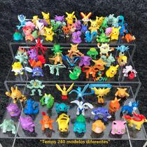 Kit 24 Pokémons Bonecos Miniaturas 2-3cm Sem Repetidos A002