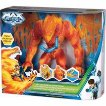 Max Steel Elementor Ataque De Fogo Mattel