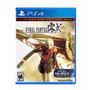 Final Fantasy Type-0 Hd Ps4 Primária Com Demo Ff Xv