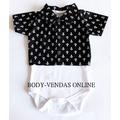 Camisa Body Infantil Bebê Kit Com 2 Peças