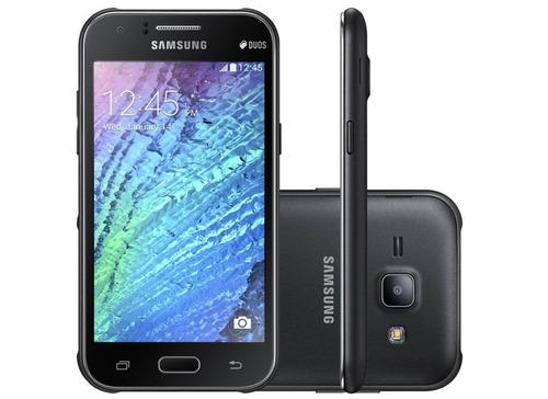 Samsung J100 Galaxy J1 Dual Preto 4gb Wi - fi Gps 3g 5mp