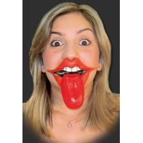 Dentadura Boca Língua - Muito Engraçado - Frete Baratíssimo