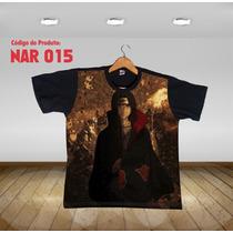 Camisa Camiseta Anime Itachi Uchiha Naruto Kakashi 015