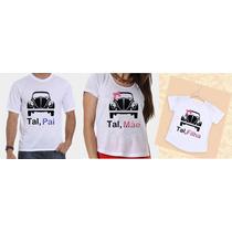 Camisetas Tal Pai, Tal Mãe, Tal Filha Fusca