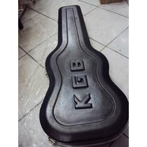 Estojo Case Para Guitarra Les Paul Linha Kgb Luxo - Promoção
