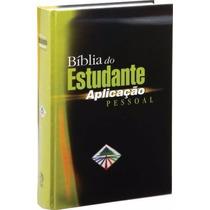 Biblia Do Estudante Aplicação Pessoal Capa Dura