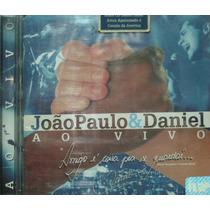 Cd João Paulo & Daniel - Ao Vivo Em Brotas 1995 + 2 Bônus