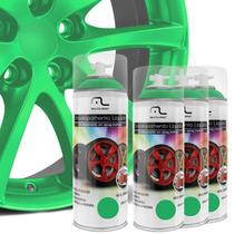 Kit Spray Envelopamento Líquido Rodas Verde