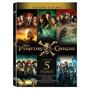 Coleção Piratas Do Caribe Completa 5 Filmes