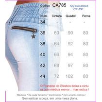 Calça Feminina Promoção Lycra Temos Sawary Ri19 Pit Bull 785