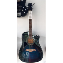 Violao Elétrico Giannini Performance Cor Blue Sunburst