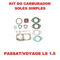 Kit Carburador Passat/voyage 1.5 Solex Simples