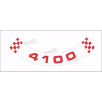 Adesivo 4100 Tampa Filtro De Ar Chevrolet Opala E Caravan