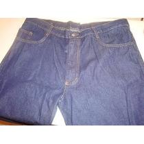 Calça Jeans Uniforme Masculino Tamanho 38 A 48 10 Onças Azul