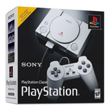 Playstation One Classic Edition Mini - Novo Na Caixa