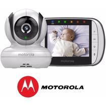 Babá Eletrônica Motorola Mbp 36 Monitor 3.5 Visão Noturna
