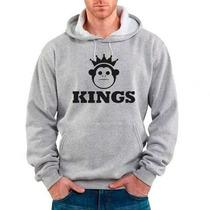 Blusa Kings Sneakers Moletom Canguru - Promoção !!!