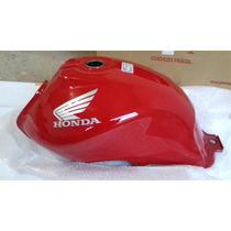 Honda Fan 125 2013 - Tanque De Combustível Vermelho