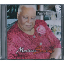 Cd Marilene Santiago - Propriedade De Deus [bônus Playback]