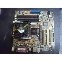 Kit Placa Mãe 478 - Ddr1 - Pentium 4