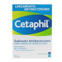 Cetaphil Sabonete Antibacteriano Com 80 Gramas