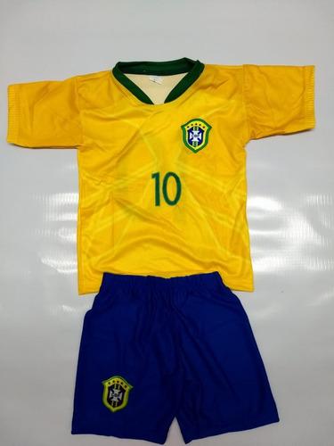 31107da5b6 Kit Conjunto Uniforme Infantil Do Brasil Camisa Mais Shorts. Kit Conjunto Uniforme  Infantil Do Brasil ...