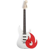 Guitarra Squier Stratocaster Deluxe Hot Rails Branca . Loja