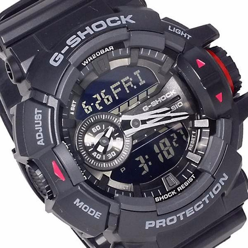 6cd9000c13e Relógio Casio G-shock Modelo Ga-400-1bdr Novo 1 Ano Garantia