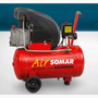 Motocompressor De Ar Smi 8,5/25 Air Somar By Schulz